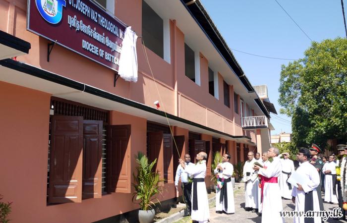 231 Brigade-Refurbished Theological Institute Re-opened