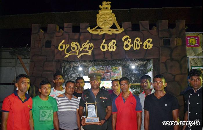 Army Stalls in 'Ruhunu Rasa Saraniya' Declared Best
