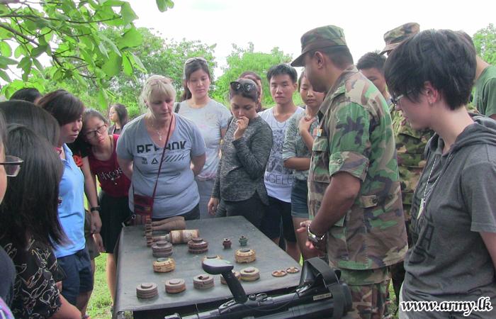 Singaporean Undergraduates Educated on Demining