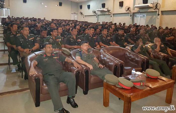 More Educative Lectures Enlighten Jaffna Troops