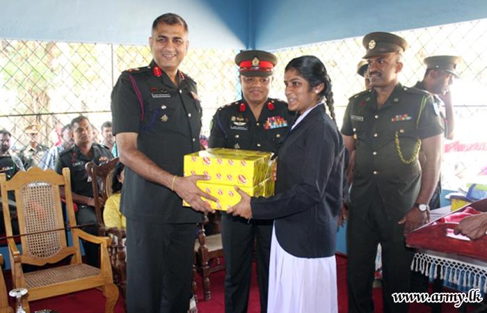 593 Brigade Takes Initiative to Renovate Pre-school at Chemmali GN Division in Mullaittivu District