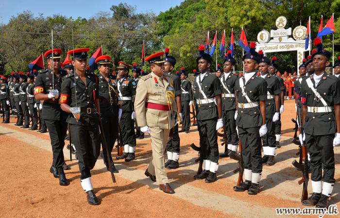 இலங்கை இராணுவ பொலிஸ் படையணியின் 256 படை வீரர்களின் பயிற்சி வெளியேறும் நிகழ்வு