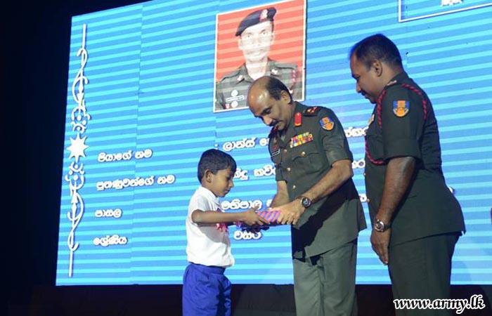 Children of Affected SLAOC War Hero Families Given Incentives