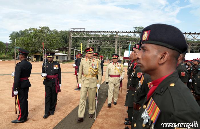 Previous SLAVF Commandant Honoured in Formal Farewell Ceremony