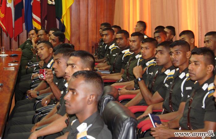 SLMA Officer Cadets Visit SFHQ-West