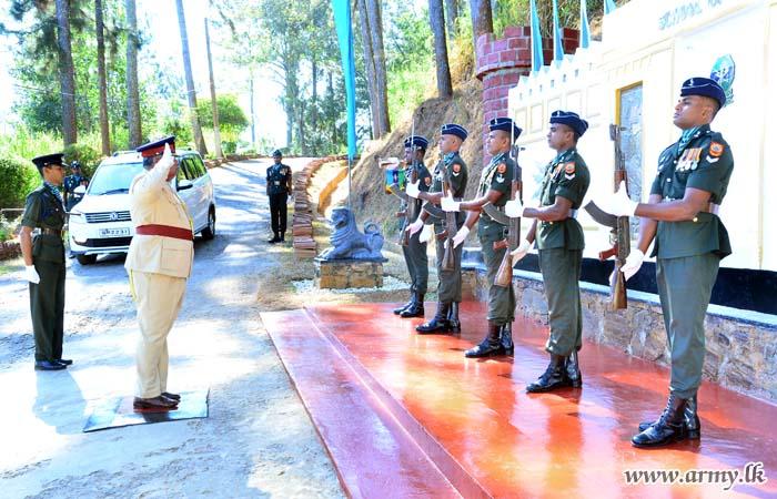Elaborate Arrangements Mark Anniversary at Kandy School of Signals