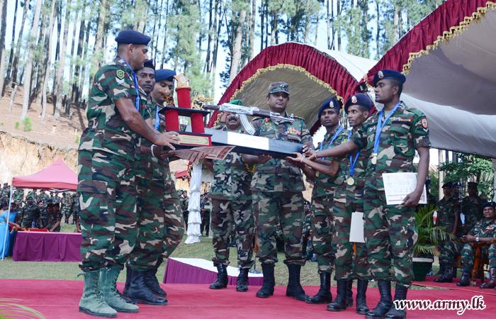 GW Secures Championship in Inter Regiment Practical Rifle Meet