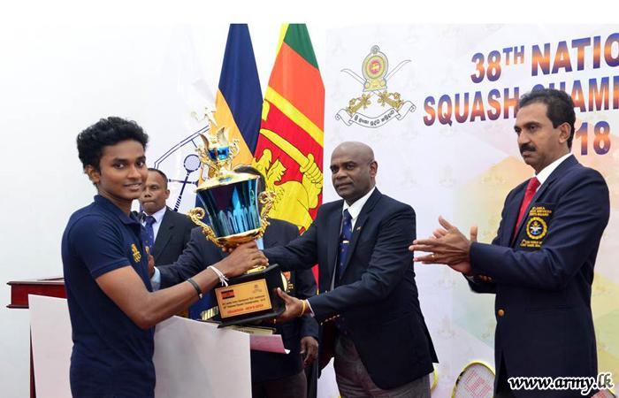 Army-Organized 38th National Squash Championship – 2018 Draws to a Close