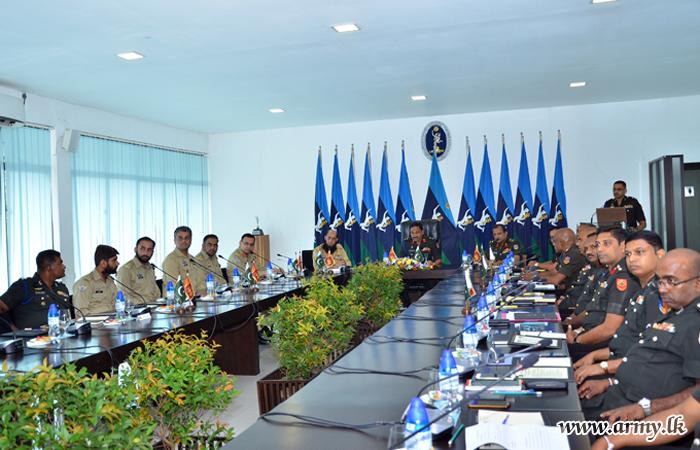 Pakistan - Sri Lanka Armed Forces Join Annual 'Staff Talks'