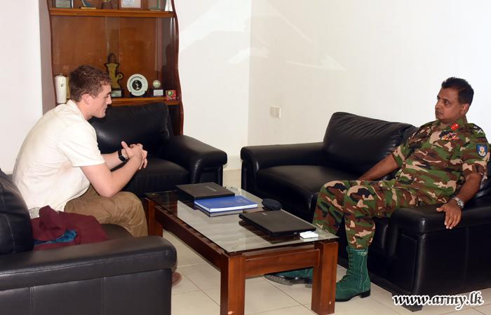 US Army Cadet Calls at SFHQ-MLT