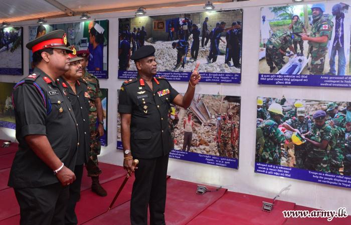Commander Calls at Moneragala 'Enterprise Sri Lanka V2025' Exhibition