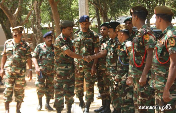 SF-KLN Commander Calls at 65 Div & Battalion Training School