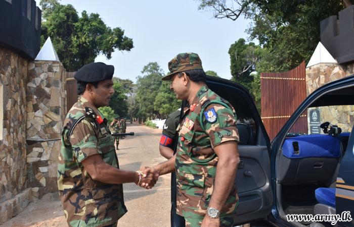 Commander SF-MLT Visits 593 Brigade Hqrs & Battalions