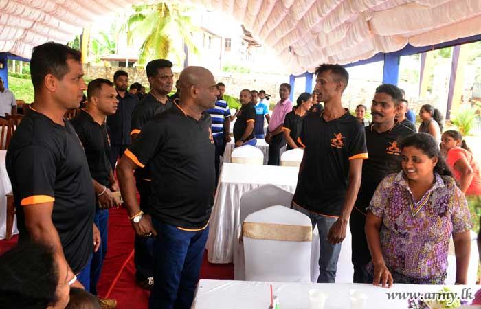 Commander Surprises Attendees at Headquarters Battalion Get-Together