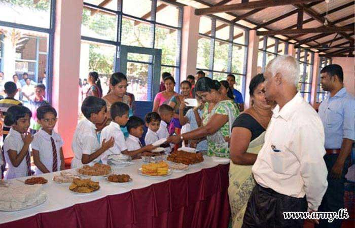 கெமுனு ஹேவா படையினரால் கல்லுரி கட்டிடம் மீள் நிர்மானிக்கப்பட்டுள்ளது