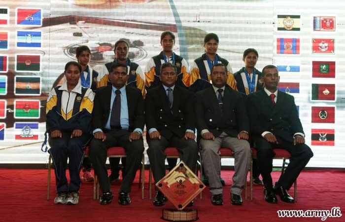 SLSR Wins Inter Regiment Carrom Tournament- 2017