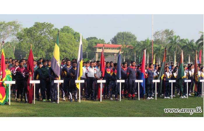 Army Inter Regiment Elle Tournament Begins in Saliyapura