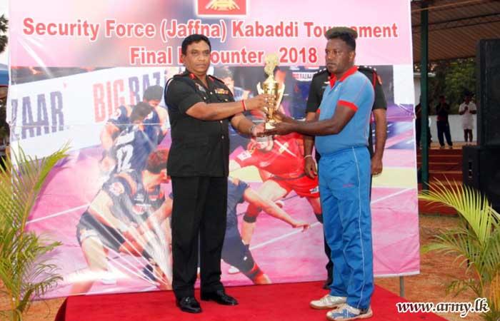 20 SLNG Clinches SFHQ-J 'Kabaddi' Championship