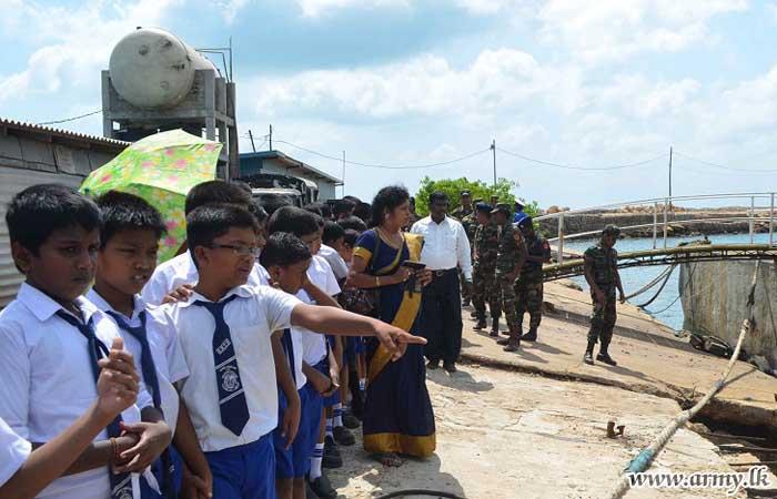 SFHQ-J Facilitates Kids Visit to Palaly Airport