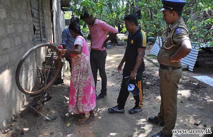 57 Div Kilinochchi Troops Support Dengue Prevention