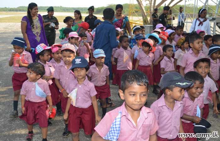 SFHQ-J Facilitates Convent Visitors to Palaly Airport