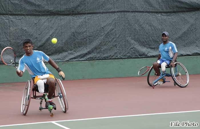 Army Wheelchair Tennis Players Shine in Thailand