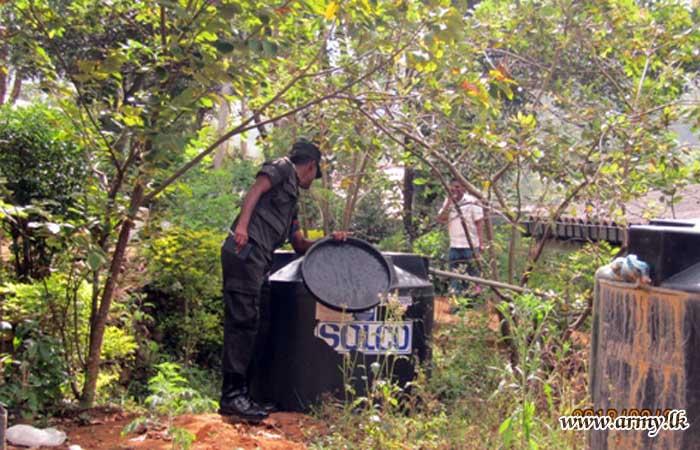 மத்திய பாதுகாப்பு படையினரின் தலைமையில் டெங்கொழிப்பு திட்டம் முன்னெடுப்பு