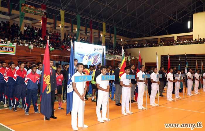 Gajaba Volleyballers & Women's Corps Team Emerge Champions in Inter Regiment Tournament