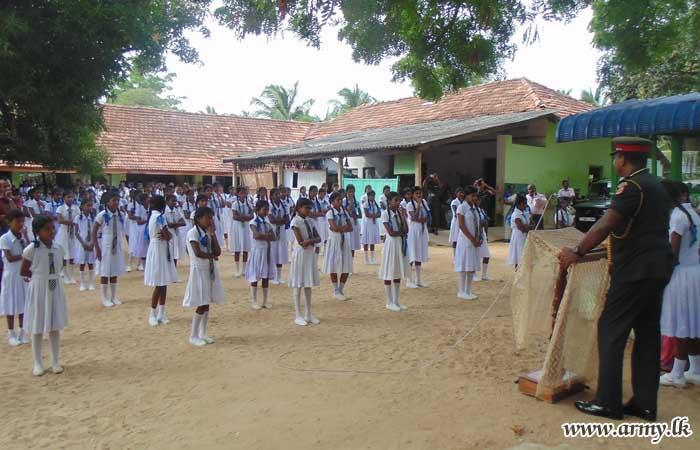 New Water Facility Installed for Students at Navatkuli Maha Vidyalaya