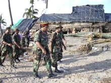 WANNI DISTRICT COORDINATOR VISITS DAMAGED FISHERIES HAMLETS