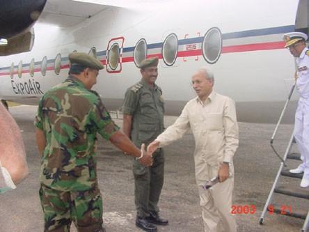 Bangladesh and Canadian diplomats meet SF authorities in Jaffna