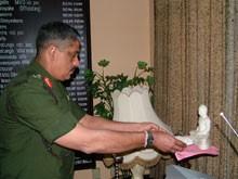New Chief of Staff Maj. Gen G. S. C Fonseka assumes duties