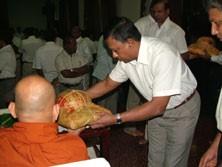 Pirith chanting to transfer merits & invoke blessings