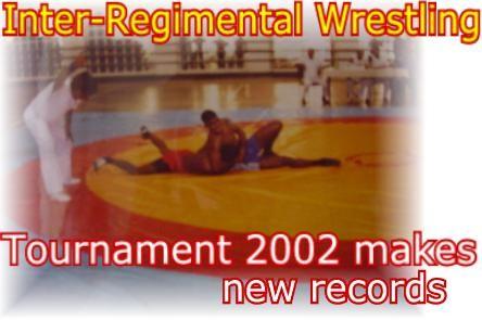 Inter - Regimental Wrestling Tournament 2002 makes new records